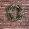 Green Wreath With Glitter
