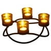 4 PCS Round Tealight Holder [155291]