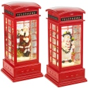 LED Red Phone Booth Christmas Decoration [695179]
