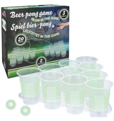 Beer Pong Glow In the Dark Game [186405]