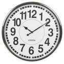 50cm Chrome Wall Clock [35800]