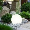 20cm White Solar Light Ball [461354]