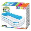 Rectangle Blue & White Inflatable Swimming Pool [454832]