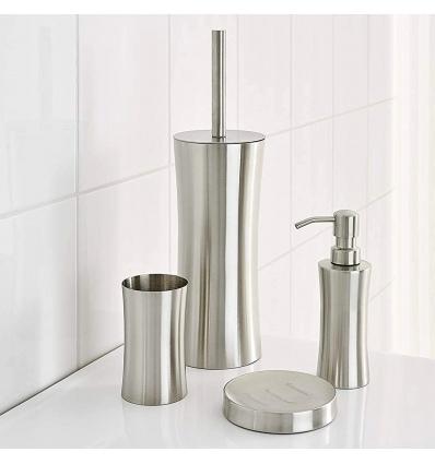 Ridder Chrome Edinburgh Stainless Steel Bathroom Set