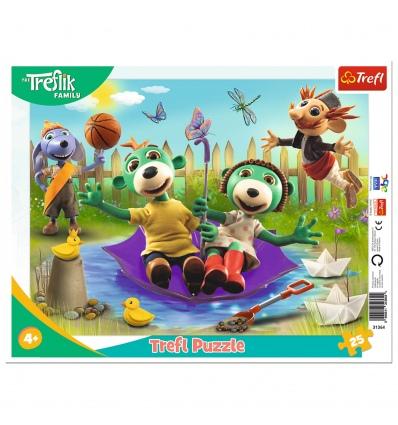 "Puzzles - ""25 Frame"" - Inventive Treflik / Studio Trefl Rodzina Treflikow [31364]"
