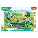 """Puzzles - """"15 Frame"""" - Play from the morning / Studio Trefl Rodzina Treflikow [31363]"""