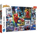 "Puzzles - ""500"" - Posters with a superhero / Disney Marvel Spiderman [37391]"