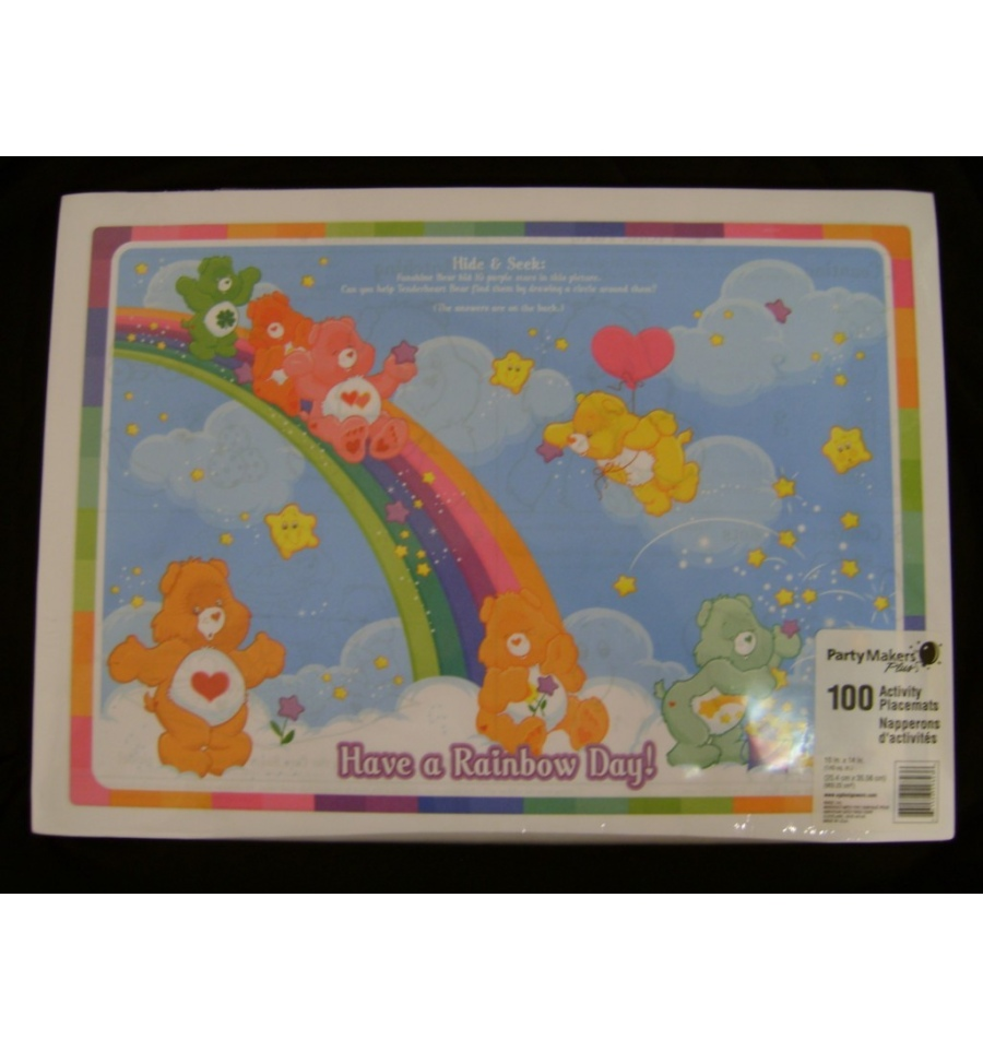 Childrens Activity Placemats