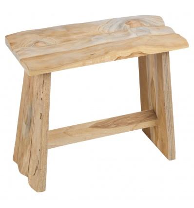 Wooden Teak  Stool Table [573927]