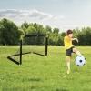 Large Foldable Football Net 90 x 59 x 61 [062017]