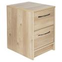 Tilbury 2 Drawer Bedside Chest- Oak Effect [180900]