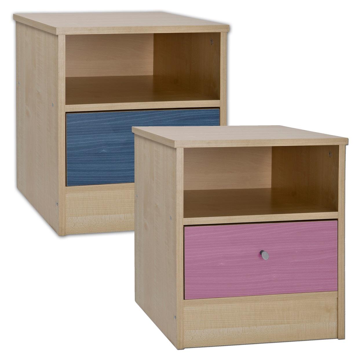 malibu childrens bedside cabinet