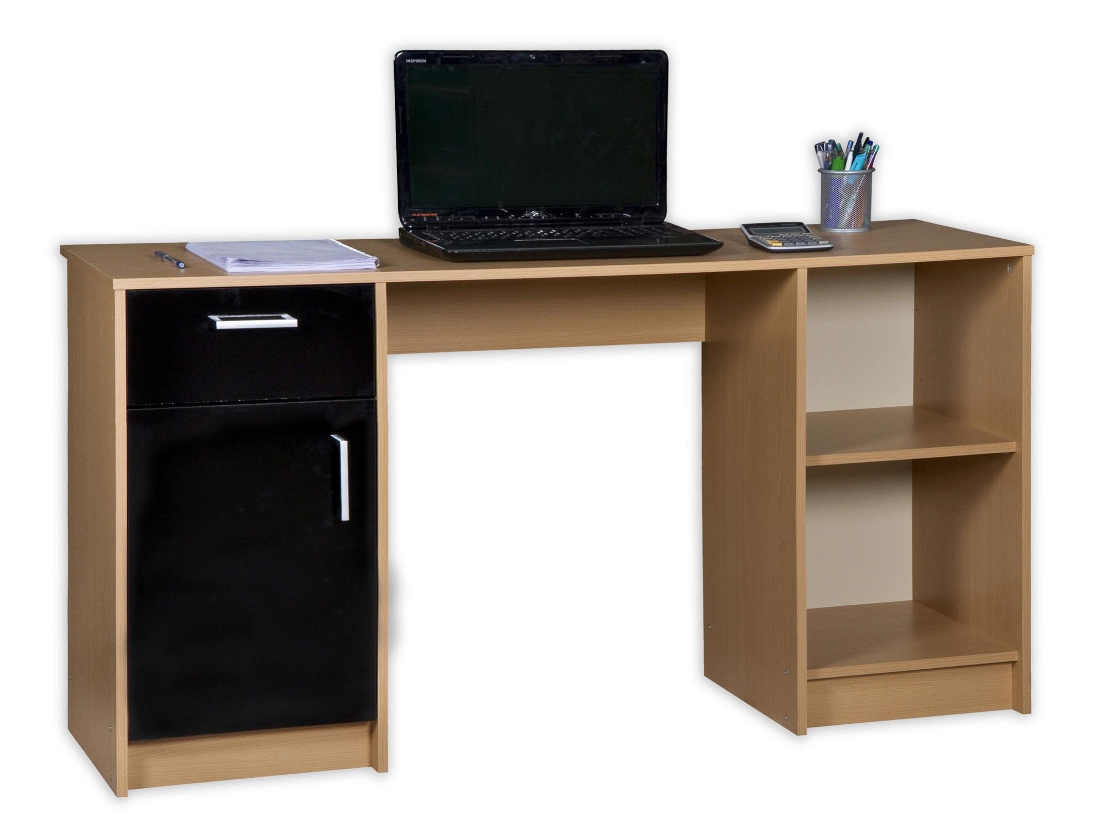 Ex Argos Caspian Work Desk Workstation Computer Office Table ...