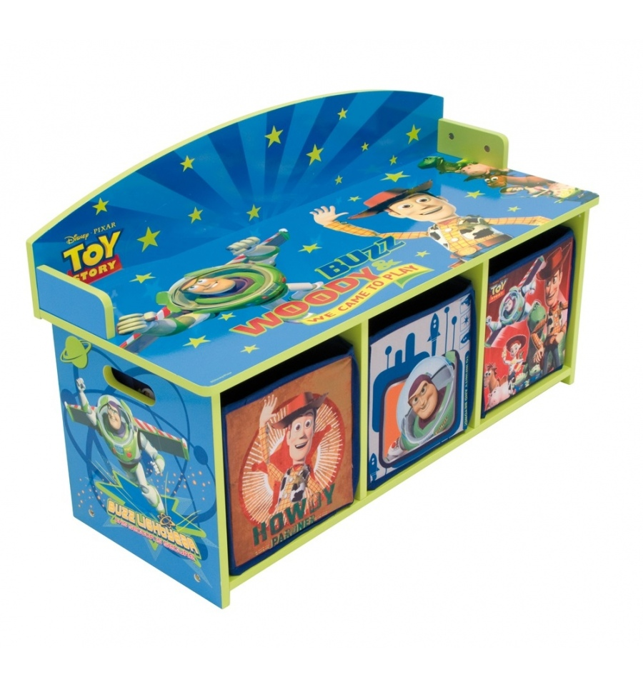 Toy Story Stool : Toy story children s bench
