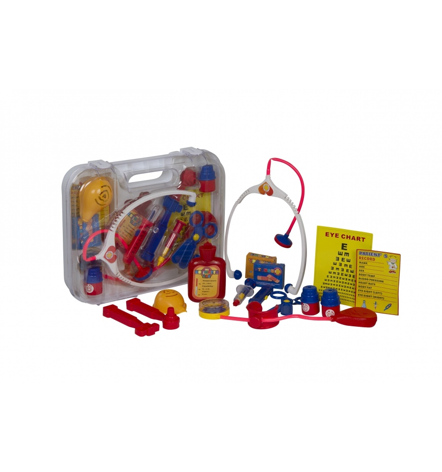 15pc Kids Doctor Playset