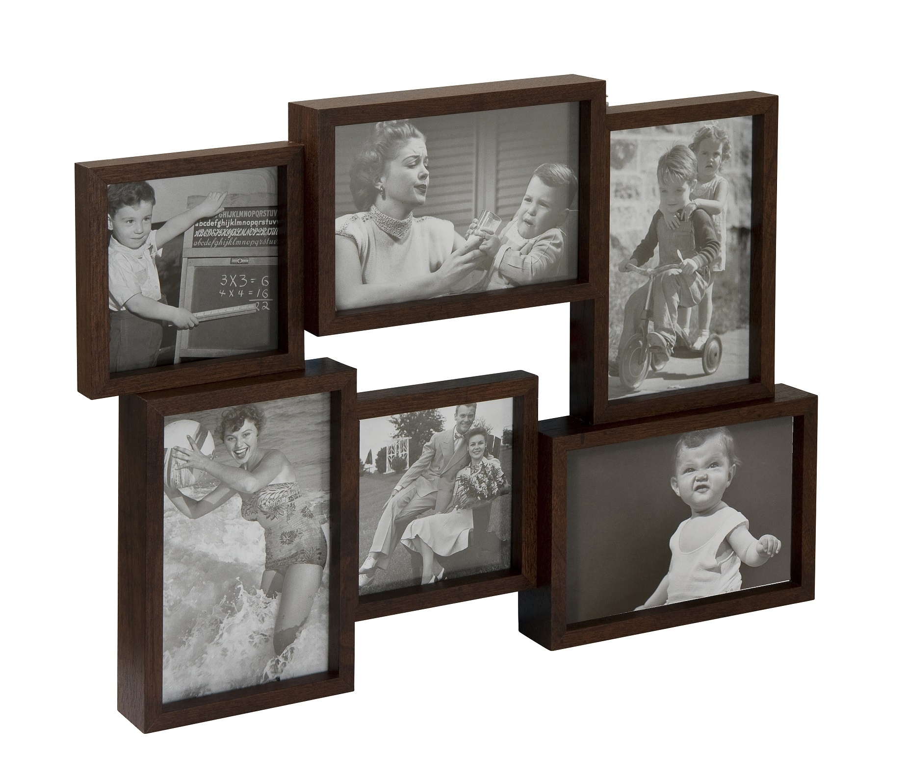 Multi Photo Frames Collage Frames John Lewis Multi aperture photo frames wall