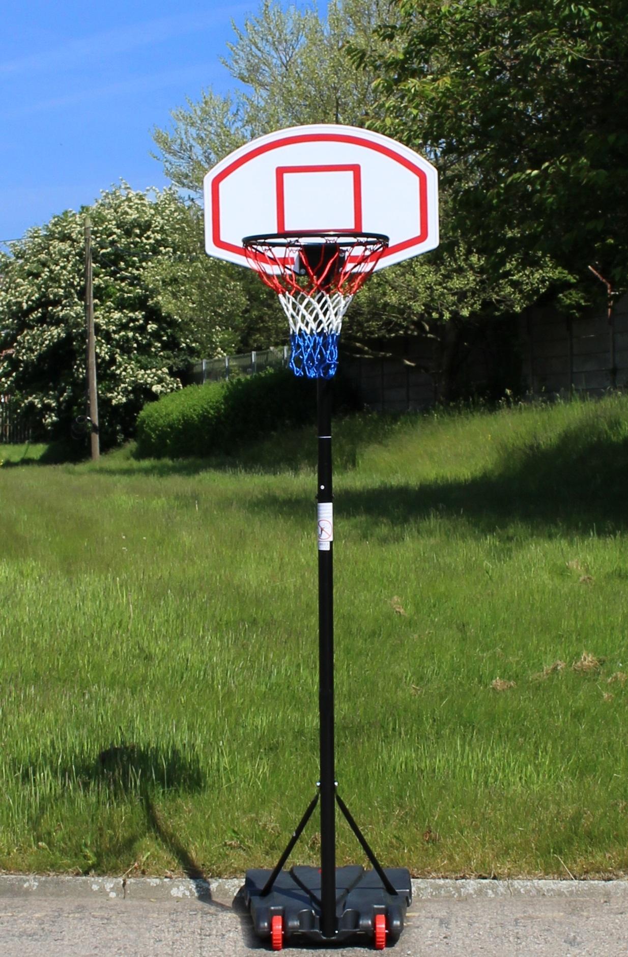Pro Free Standing Basketball Backboard Stand Hoop /& Ball Set