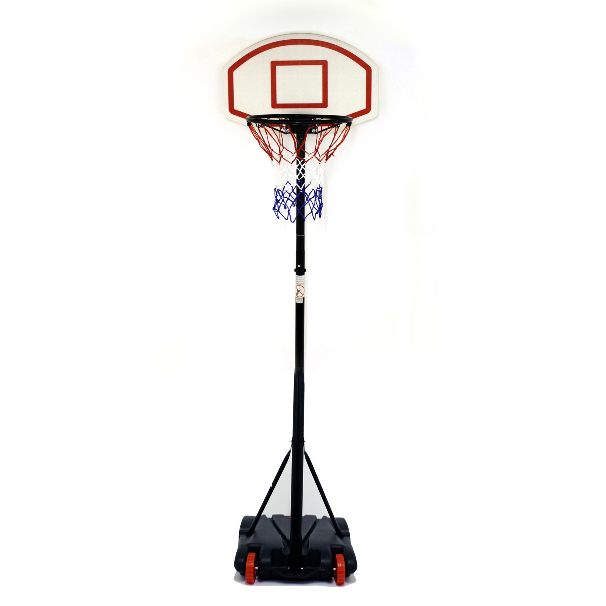 free standing basketball net hoop backboard with. Black Bedroom Furniture Sets. Home Design Ideas