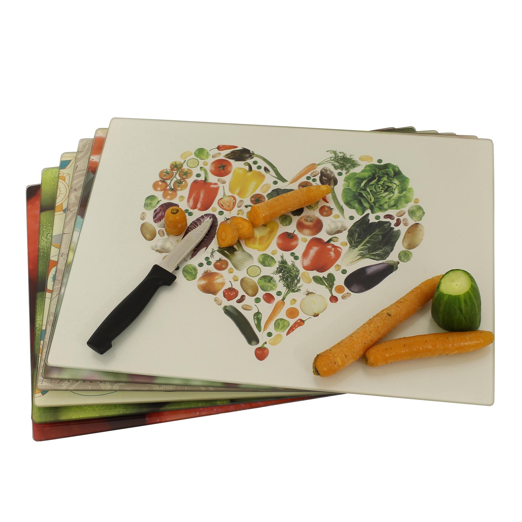 Designer verre planche d couper conseils protection plan de travail cuisine ebay - Planche a decouper pour plan de travail ...