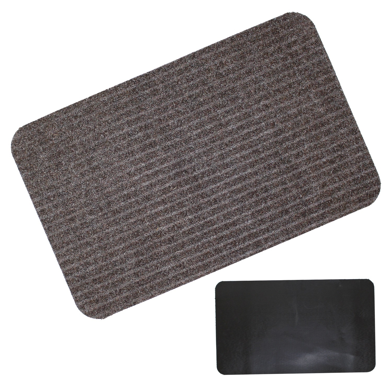 Entrance Door Floor Mat Mats Rubber Backing Home Shop