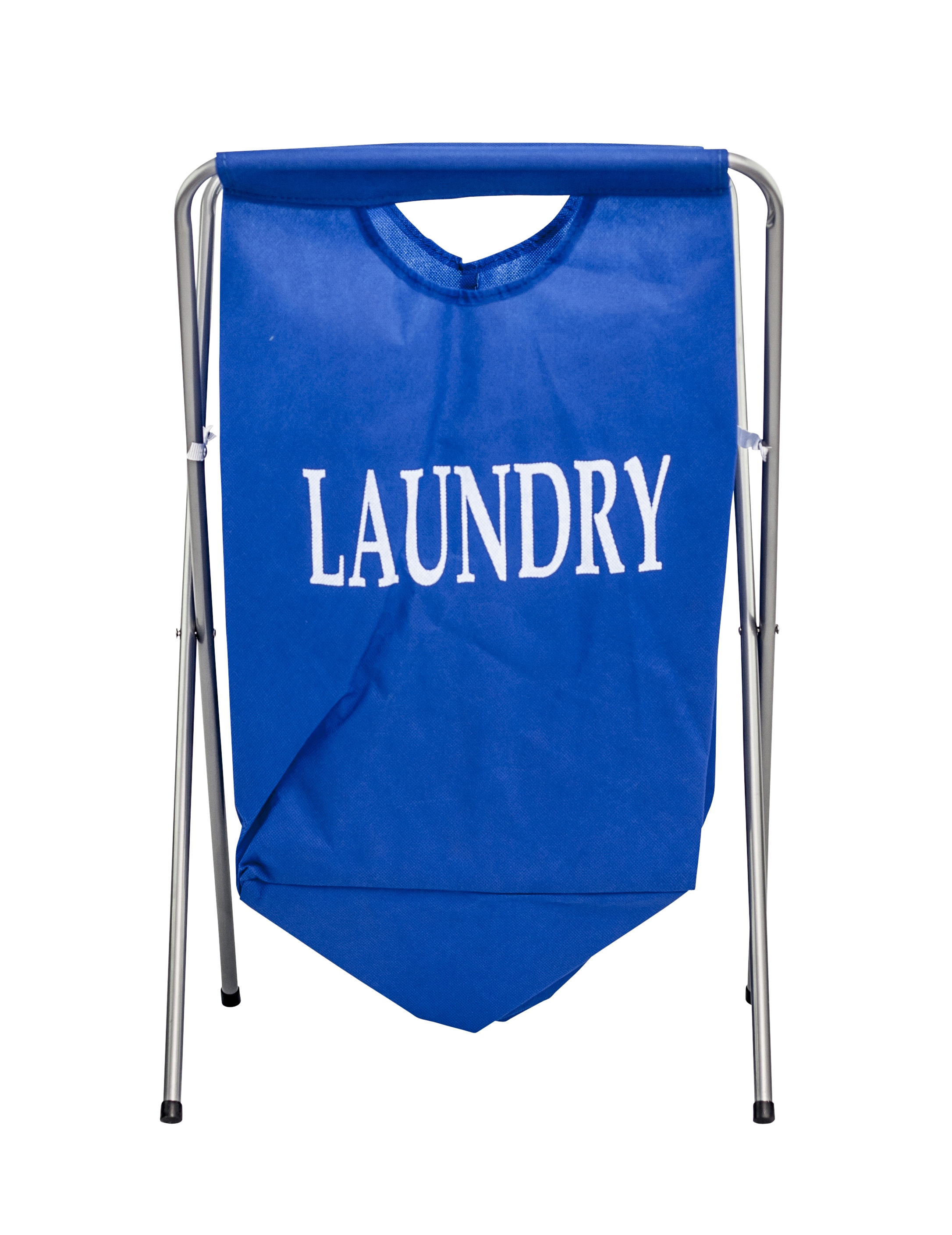 Laundry hamper basket bag storage metal frame bin light weight folding clothes - Laundry basket lights darks colours ...