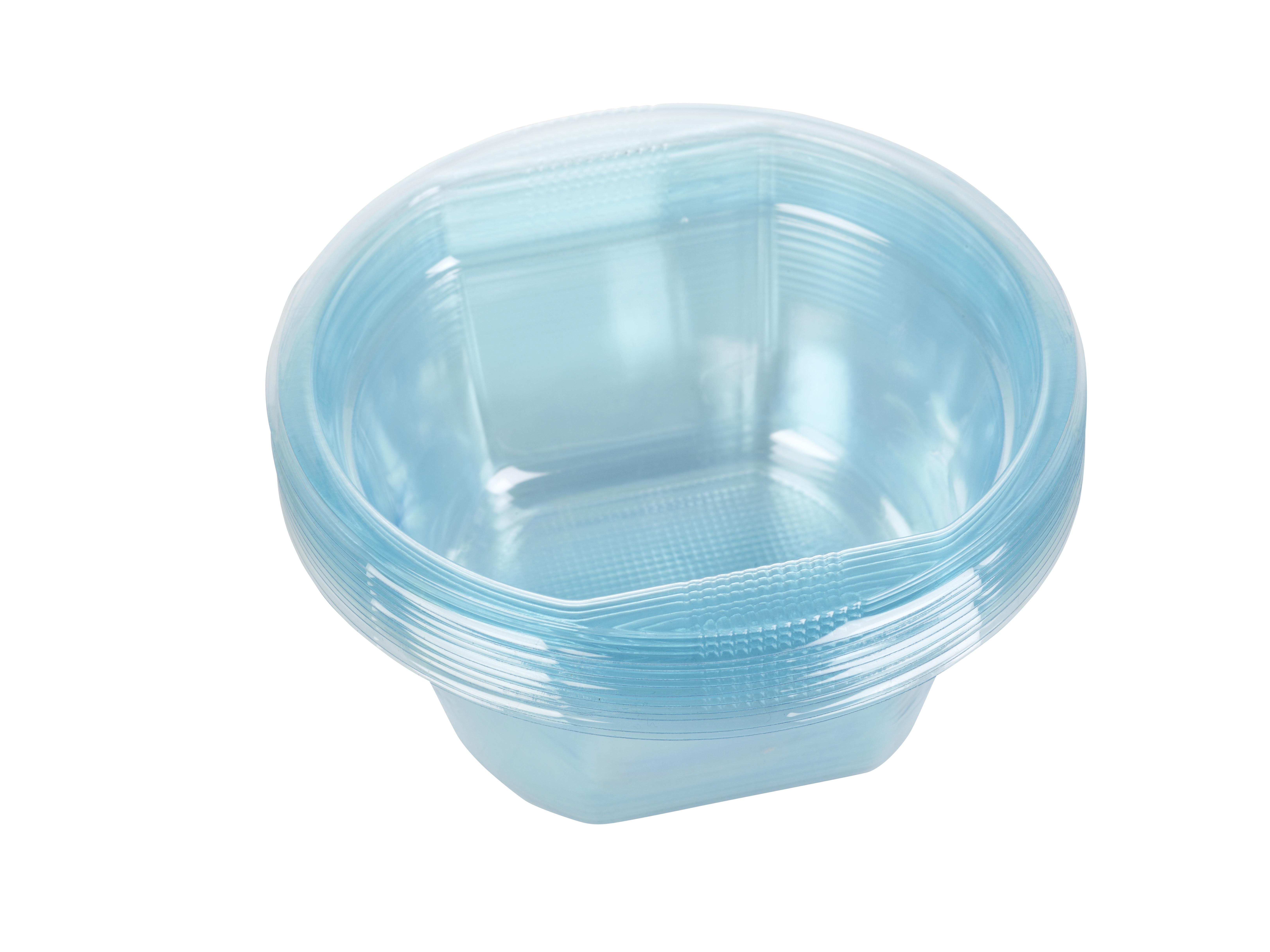 Disposable Plastic Bowls Reusable Party Tableware Dessert ...