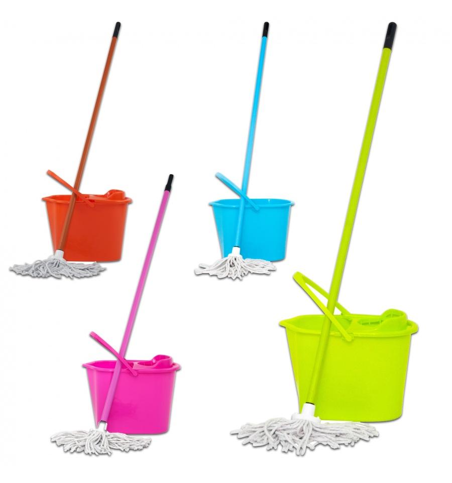 Mop and bucket set 4pcs