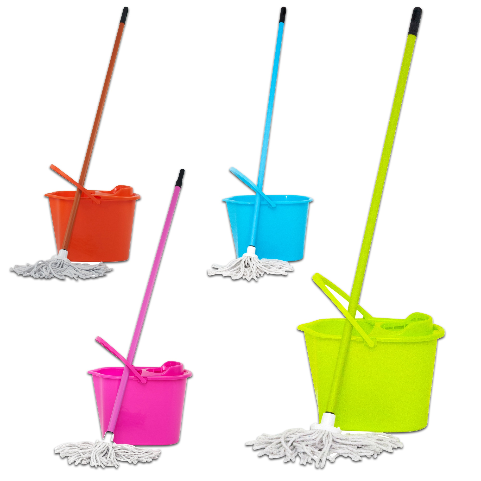 Mop And Bucket Home Cleaning Set Household Maintenance Tidy Floor Wash