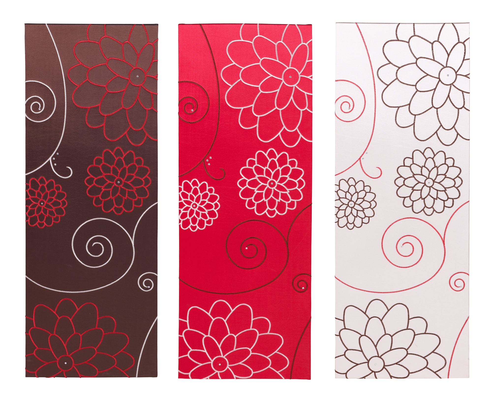 Fabric Wall Posters : Large modern design wall fabric canvas art poster print