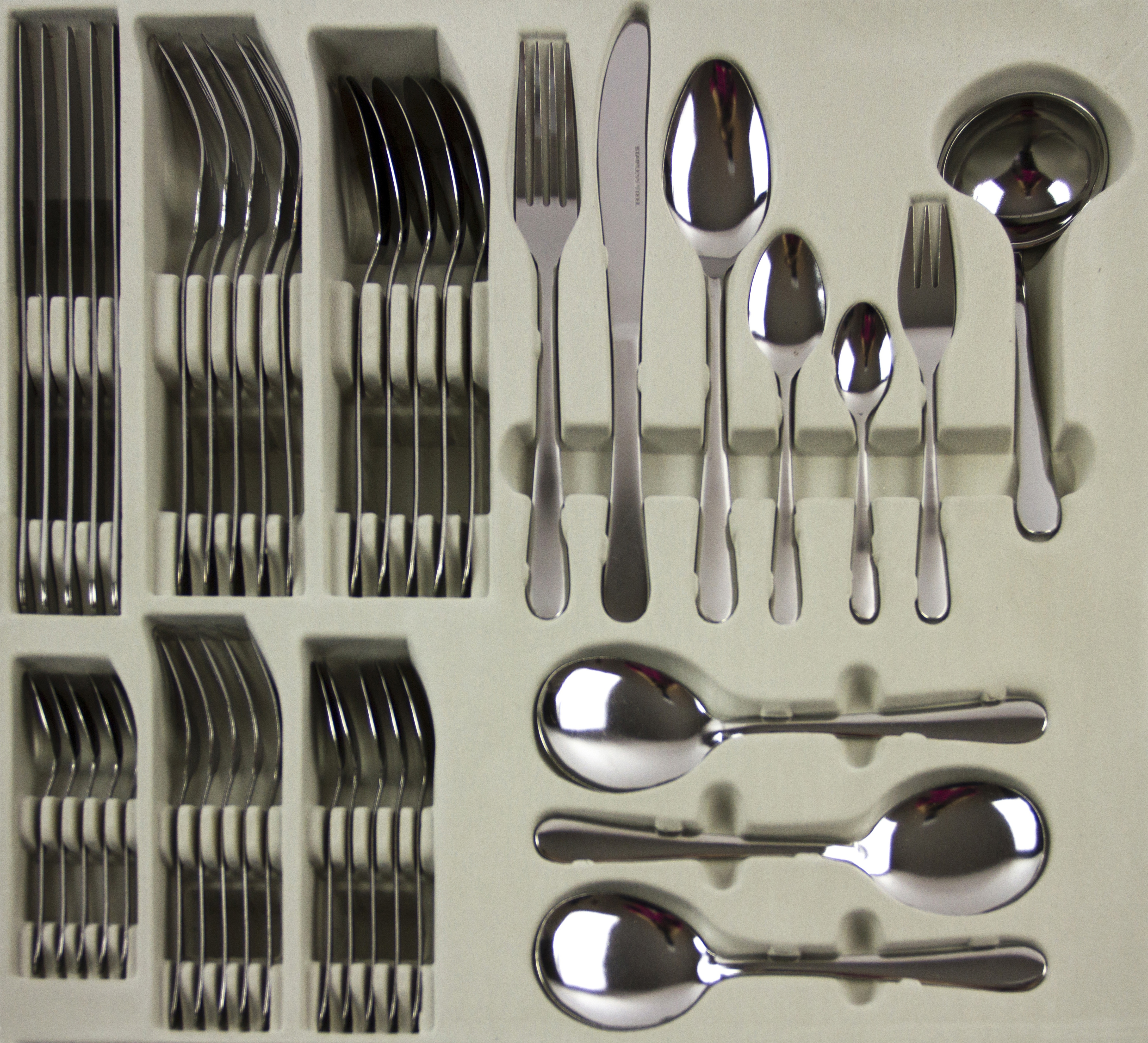 Item specifics & 16 24 or 40 Piece Stylish Stainless Steel Kitchen Cutlery Set ...