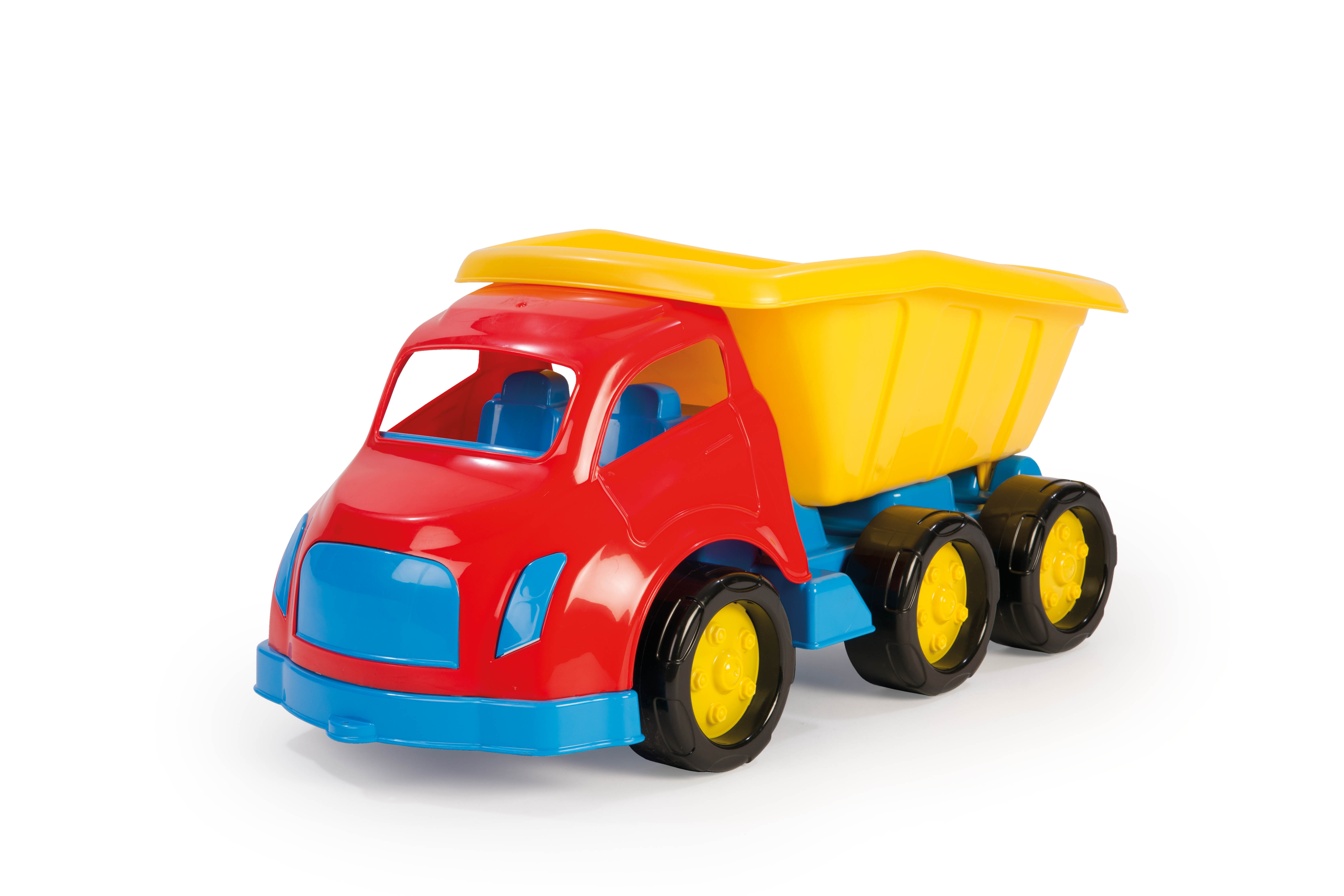 maxi large kids toy dump work construction sandpit tipper 6 wheels
