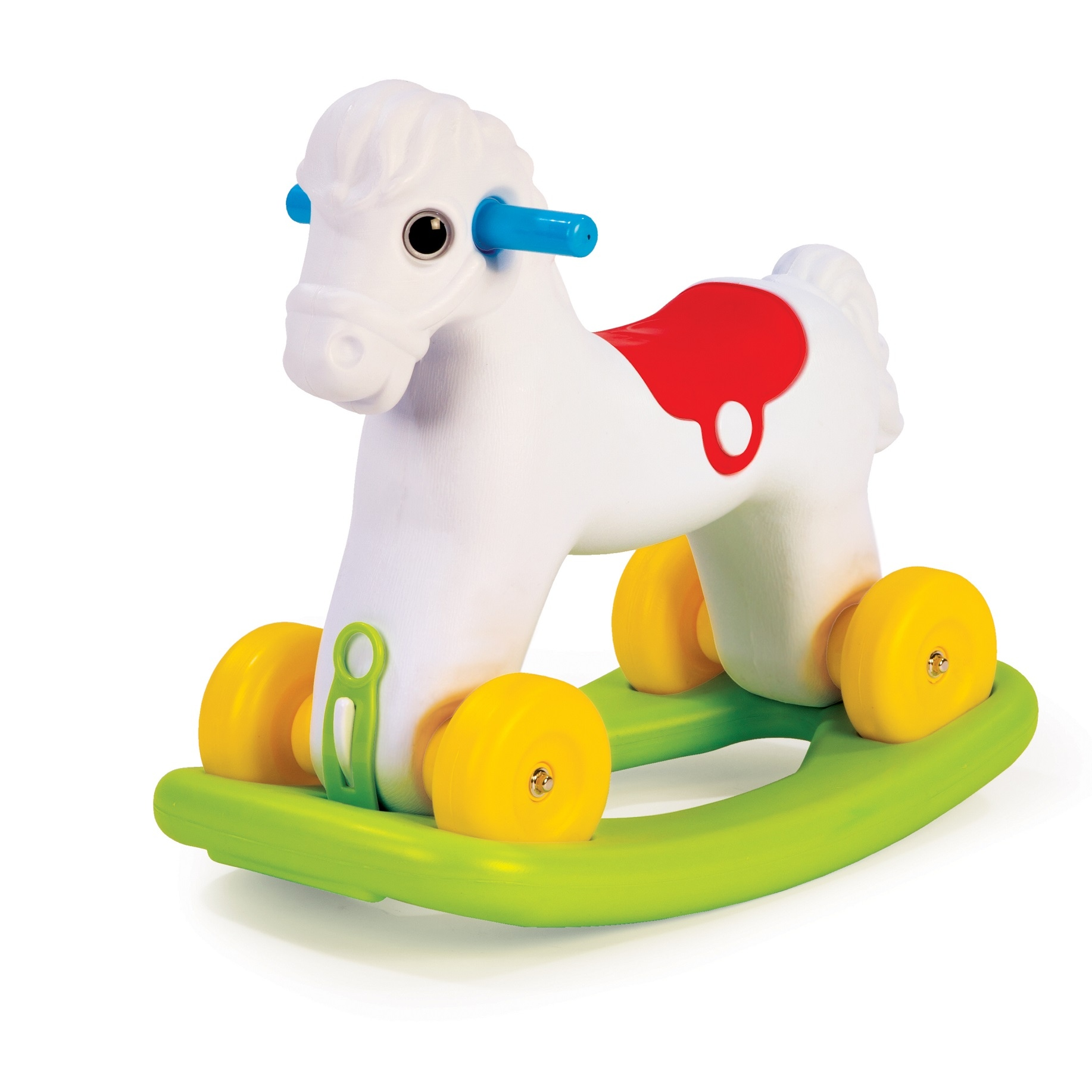 Dolu 2 in 1 Rocking + Riding Pony Wheels Kids Indoor ...