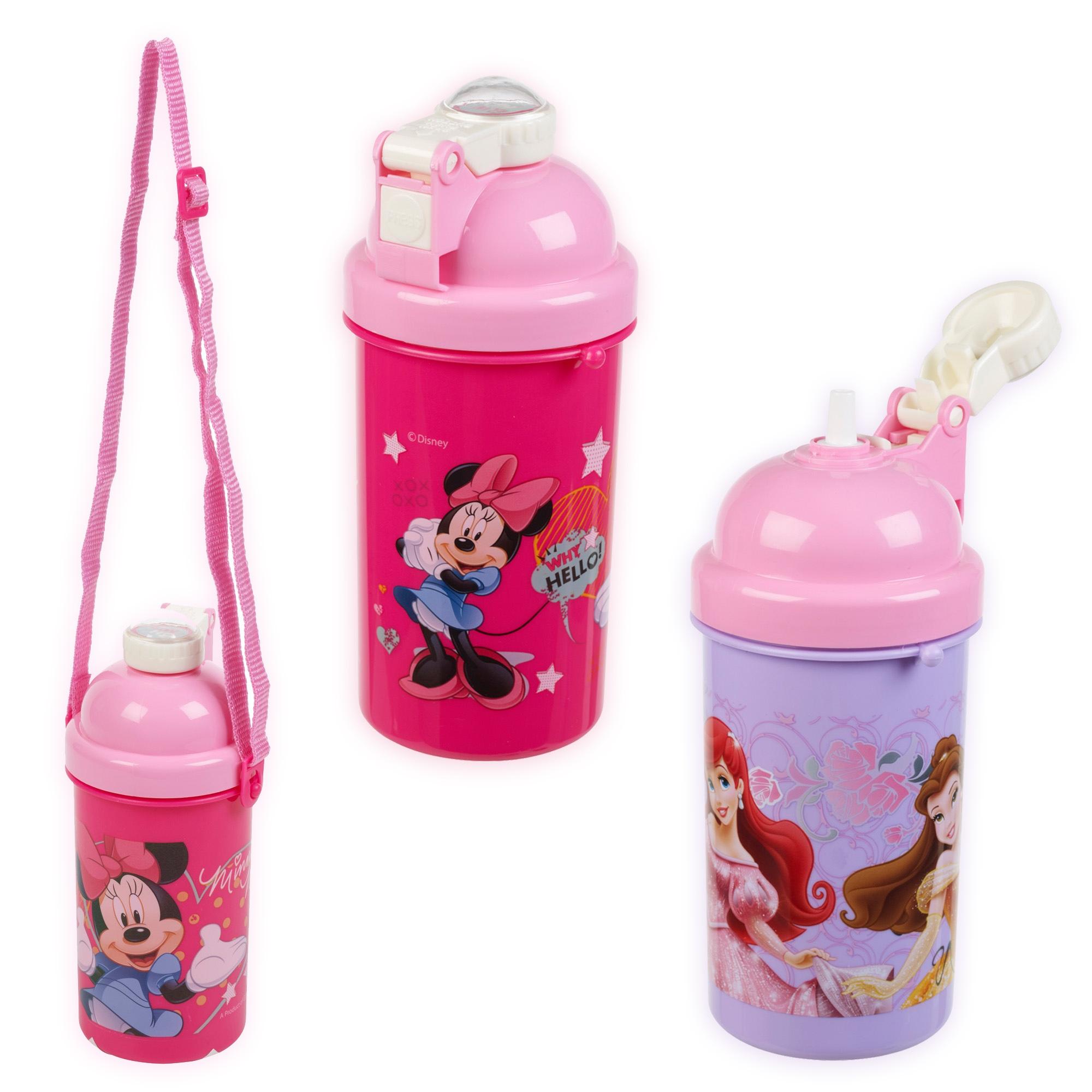 500ml Kids Disney Characters Flip Top Pop Up Drink Juice ...