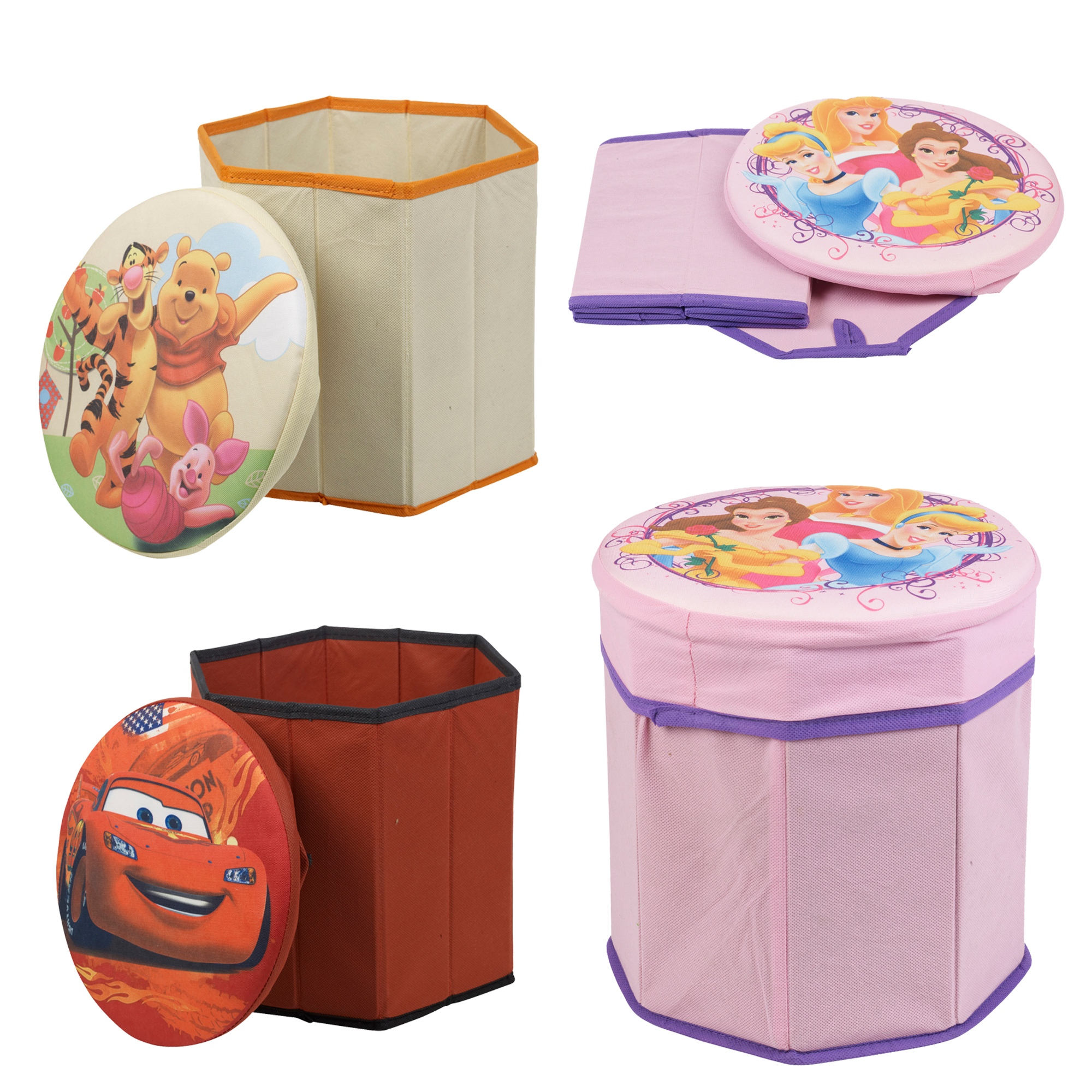Item specifics. Disney Characters Storage Foot Stool Children Pouffe Bedroom Chair