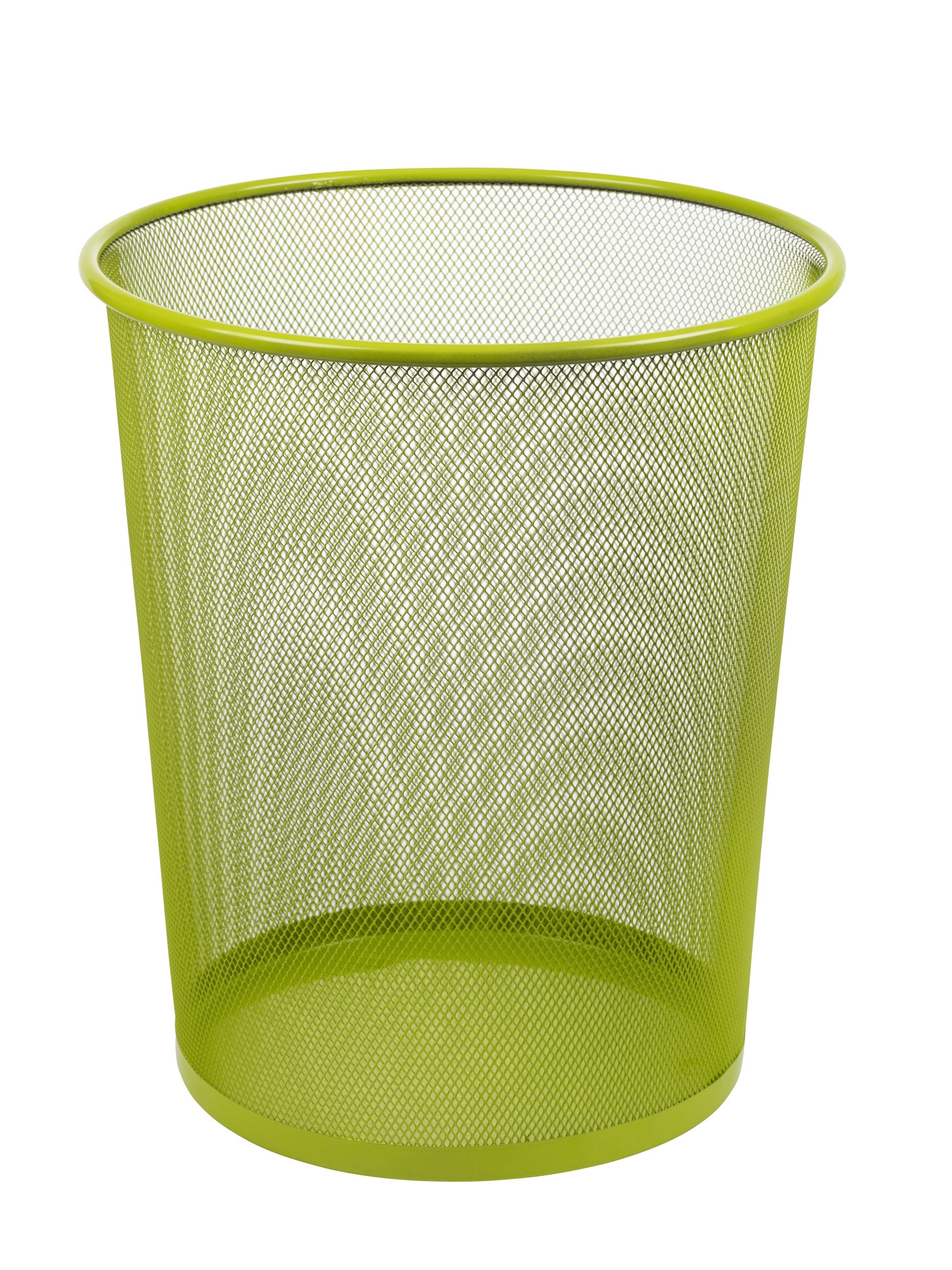 Large colourful mesh waste paper basket office metal - Basketball waste paper basket ...