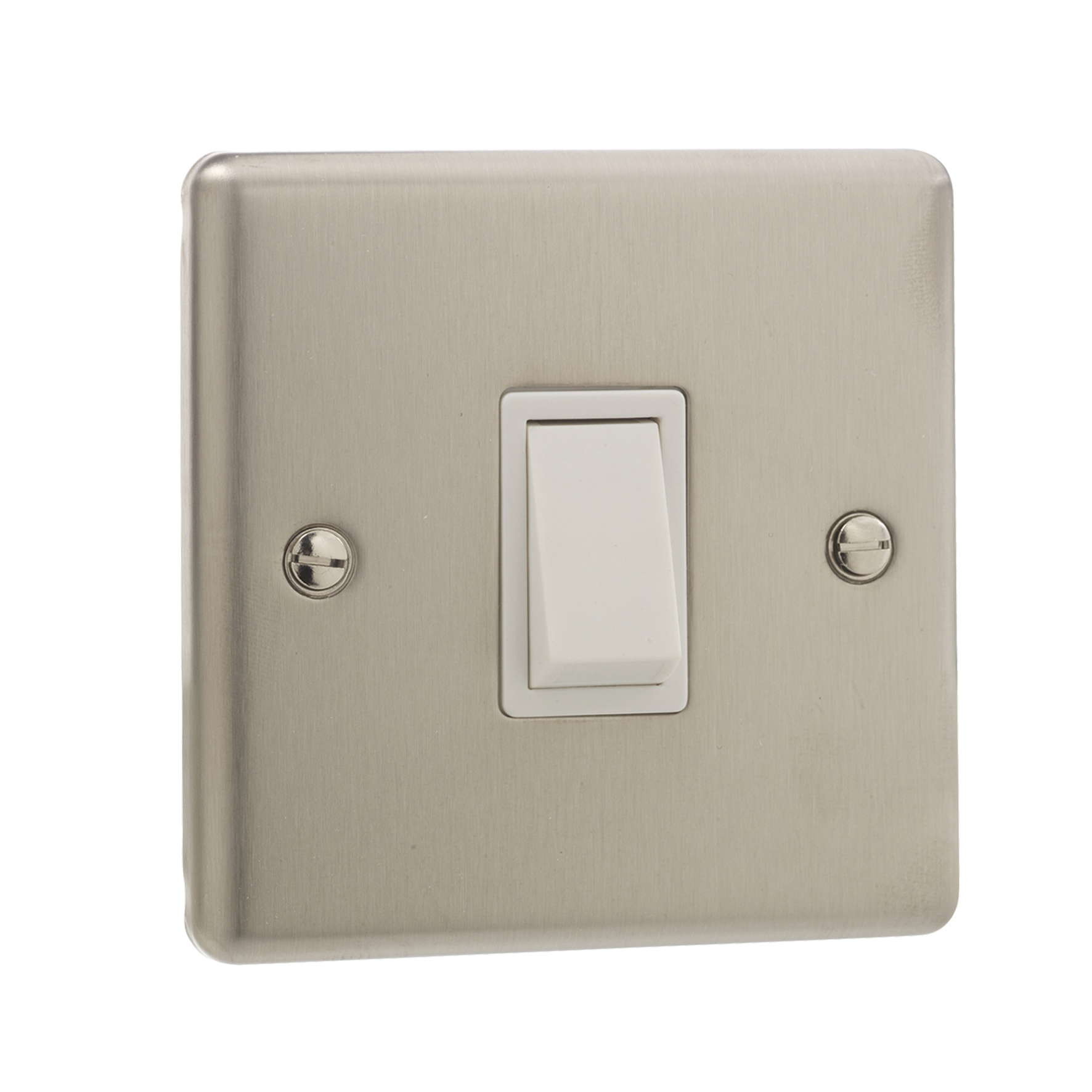 British General Stainless Steel Single 1 Gang Light Switch Double Pole Switches Item Specifics