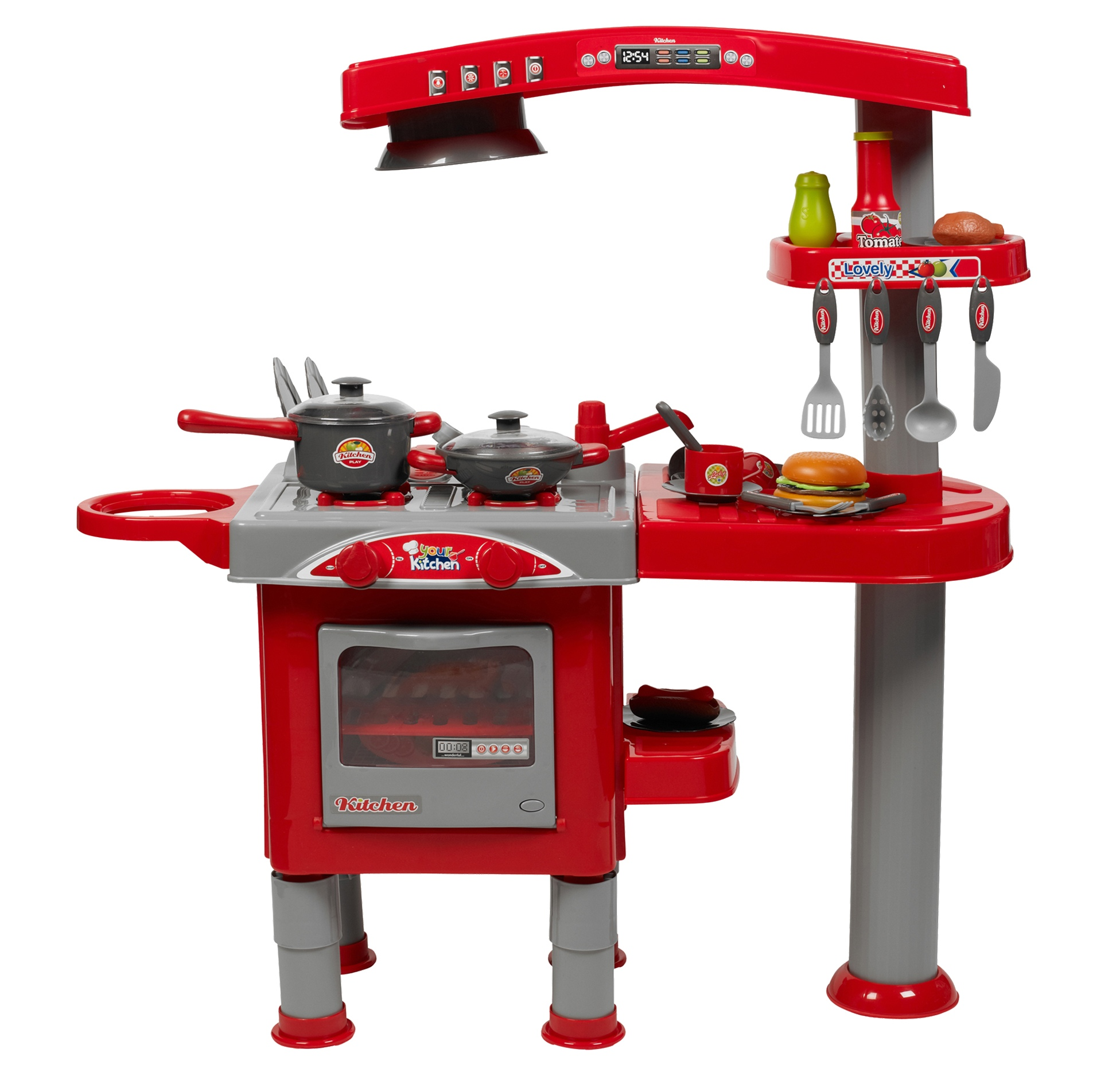 Toy kitchen set for boys for Little boy kitchen set