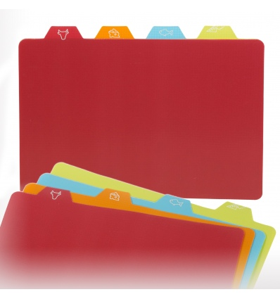 4pc Flexible Chopping Mat [094933]