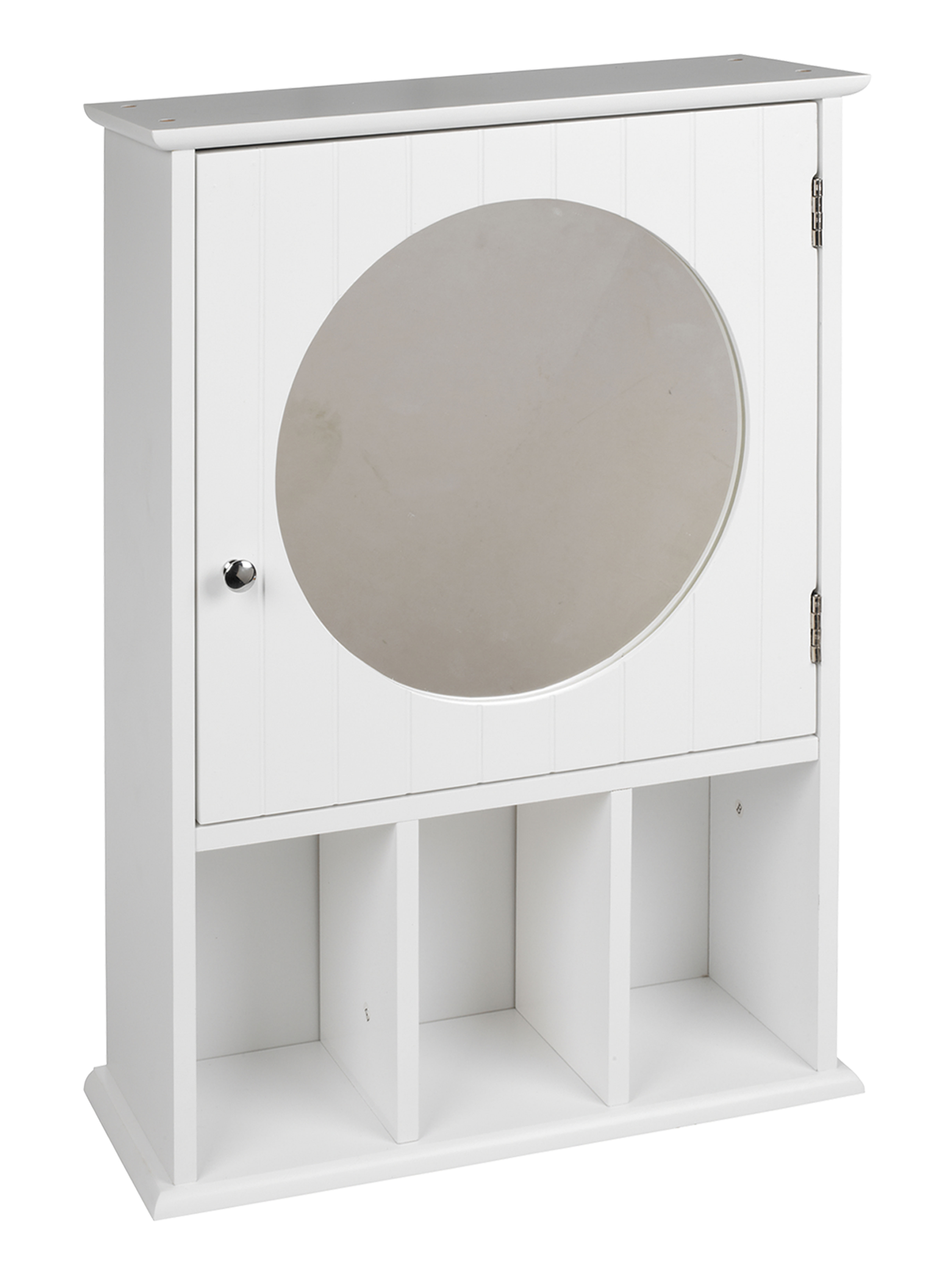 White mirror bathroom cabinet