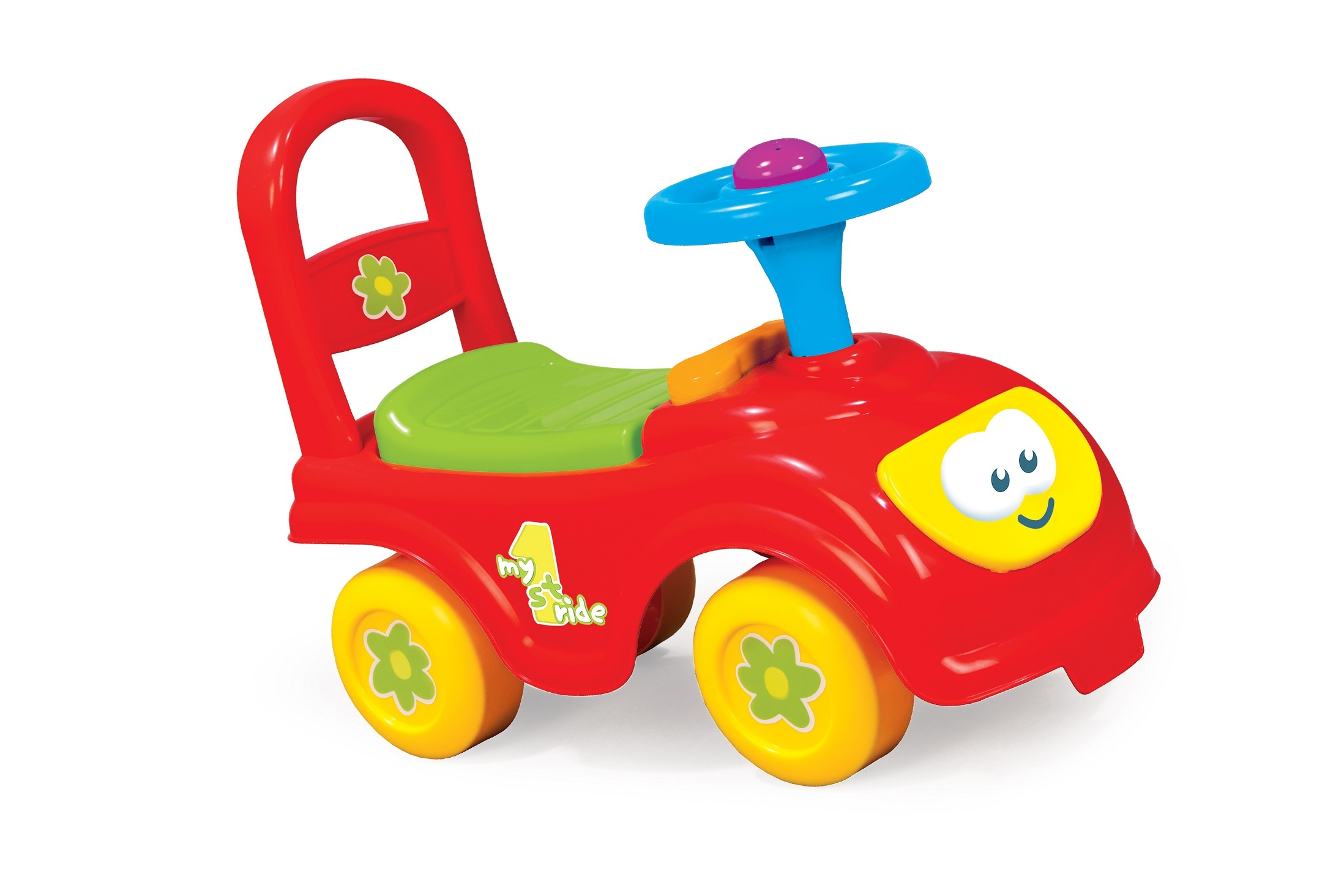 My First Ride Kids Toy Cars Girls Boys Push Along Toddlers