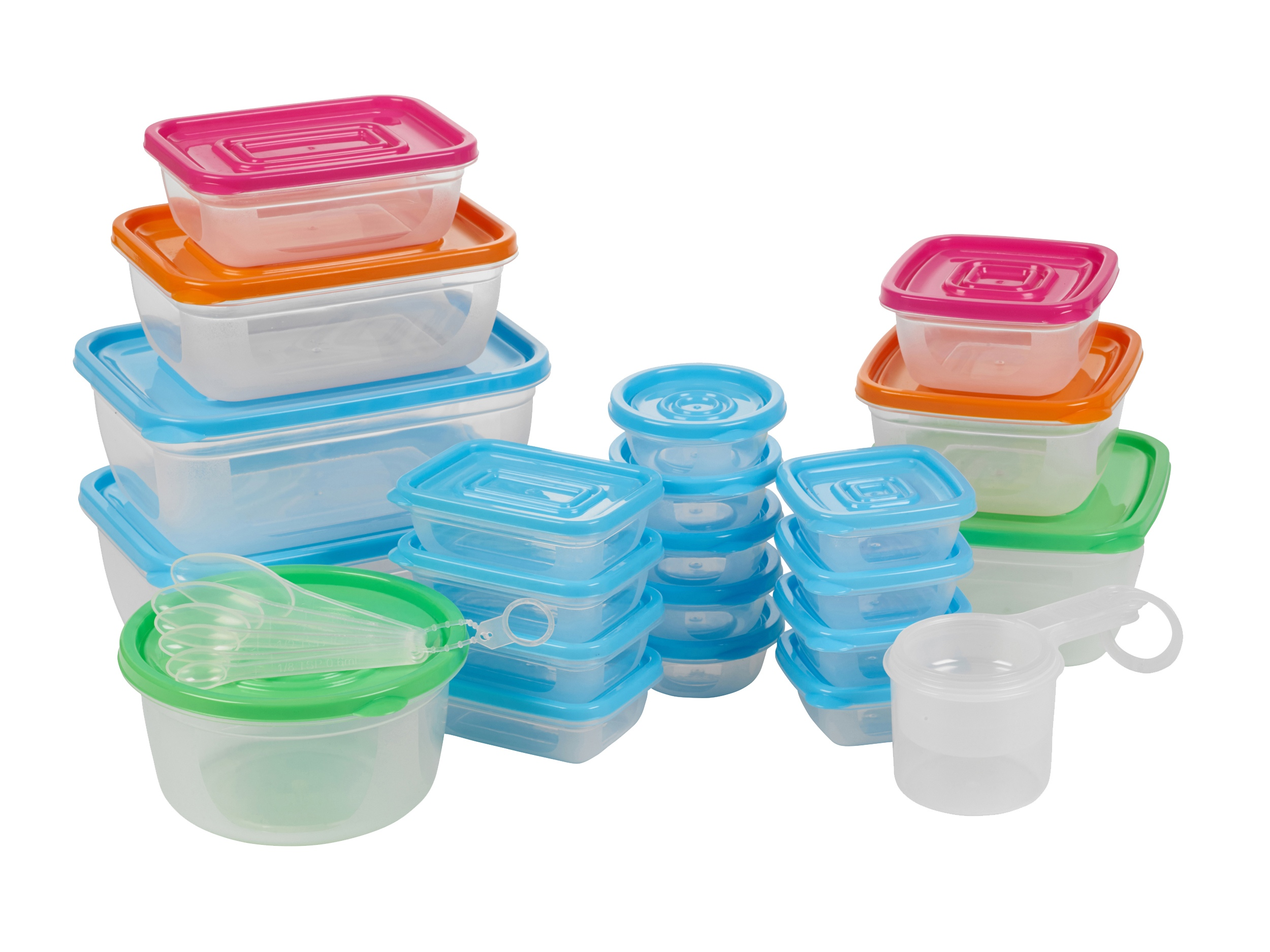 disposable food containers 31 plastic food storage containers w lids set 11673