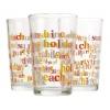 Set of 3 Drinking Glasses 8oz [543196]
