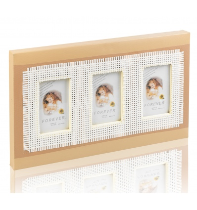 Three Photo Picture Frame 10x15 [070750] -220367