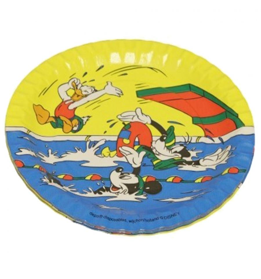 20 X Donald Duck Party Plates 18cm