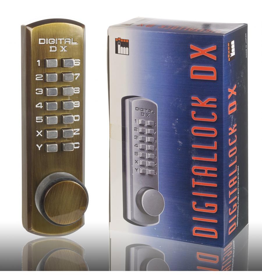 Digital Dx Door Lock Antique Brass 3200ab